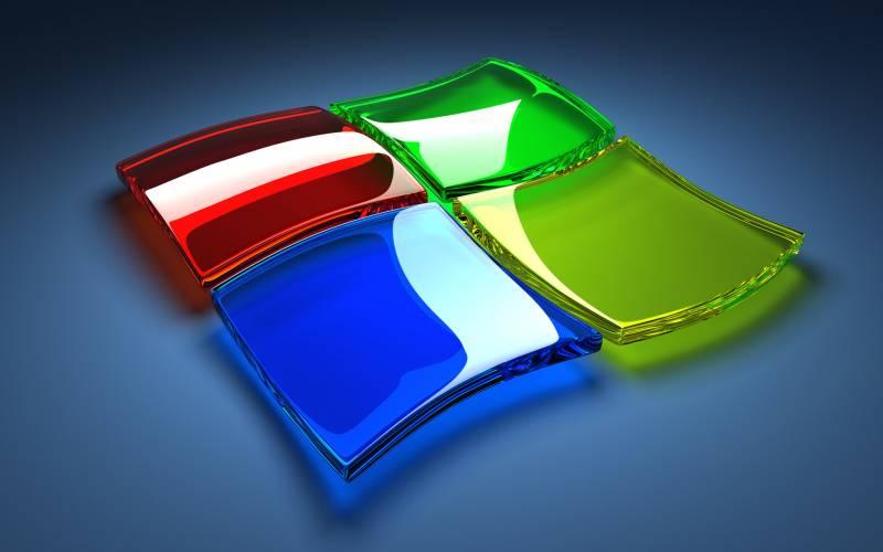 Windows Seven Fond Ecran Windows 7 Pad 4 Touches En 3d Fonds Ecran